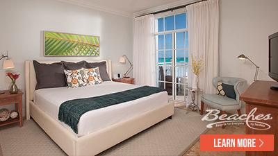 Caribbean top beachfront resort