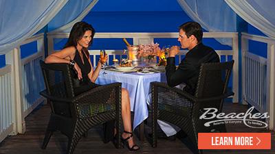 Caribbean romantic dinners