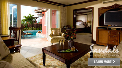 Sandals Antigua best rooms