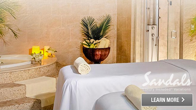 sandals antigua grande best places to relax spa