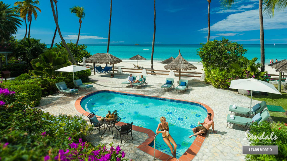 sandals grande antigua beachfront getaway caribbean