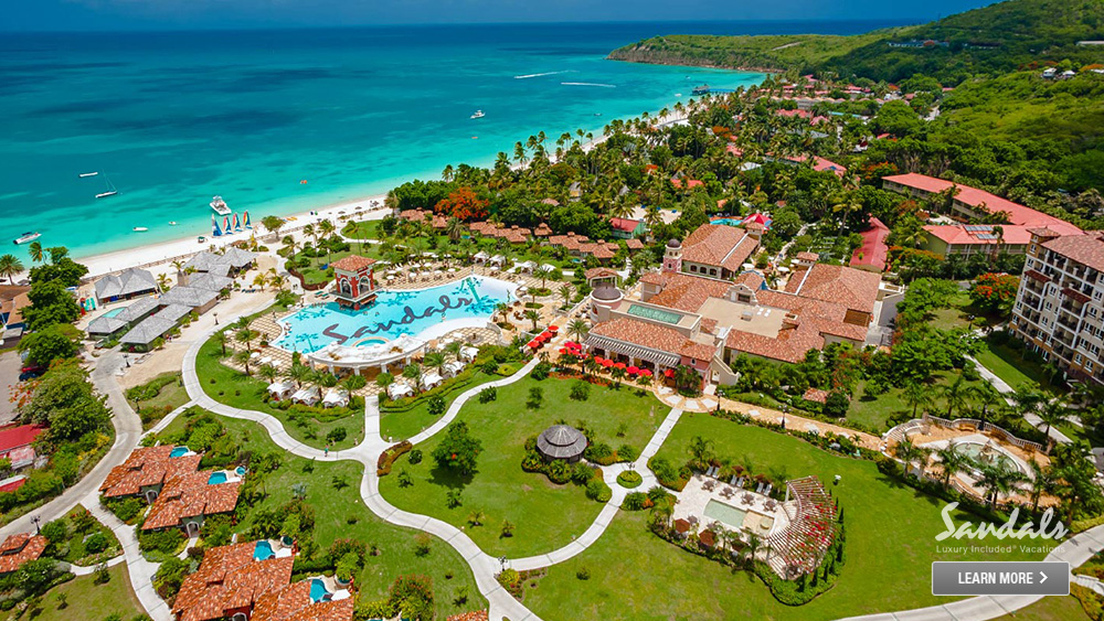 sandals grande antigua beachfront hotel caribbean