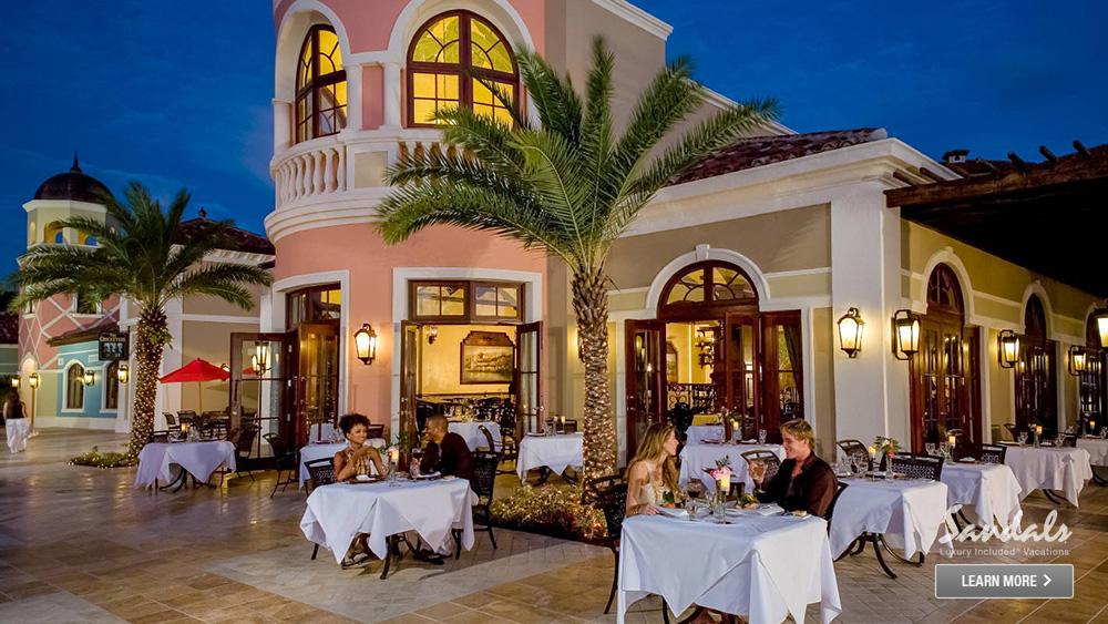 sandals grande antigua romantic luxury hotel