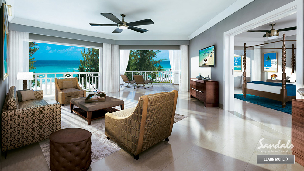 sandals barbados beachfront getaway for couples