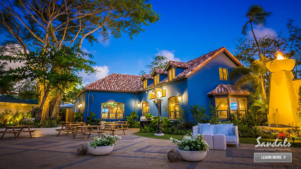sandals barbados adult only travel caribbean