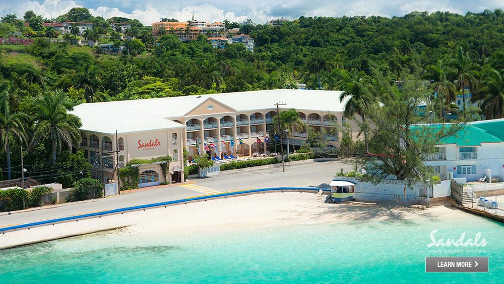 sandals inn jamaica vacation spot