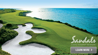 sandals bay emerald caribbean best places to golf