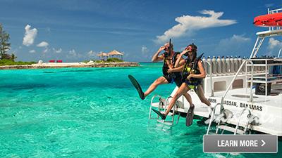 sandals bay emerald bahamas scuba diving