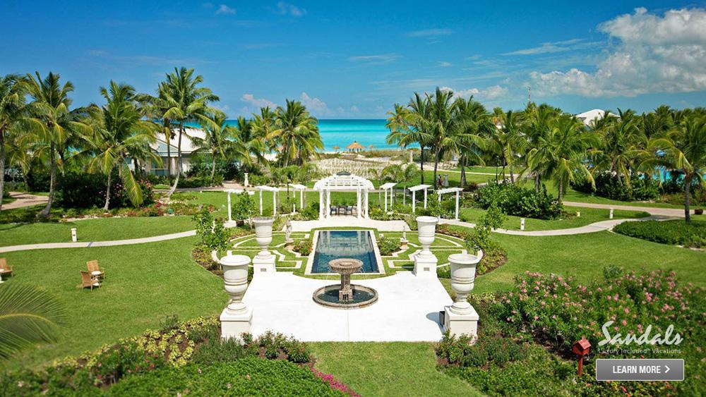 sandals emerald bay beachfront resort caribbean
