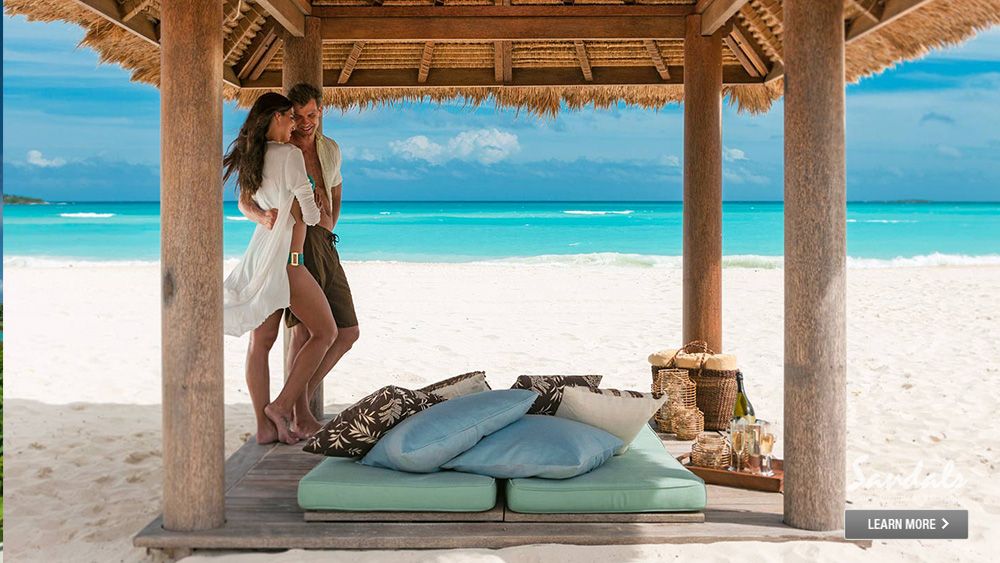 sandals emerald bay beach vacation for adults