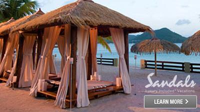 sandals saint lucian grande st. lucia caribbean romantic resort for couples