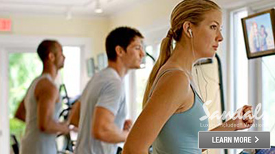 sandals saint lucian grande st. lucia best places to work out