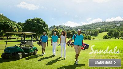 sandals saint lucian grande st. lucia best places to golf