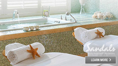 sandals saint lucian grande st. lucia best places to relax spa