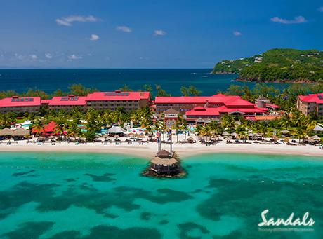 Sandals Grande Saint Lucian Couples Only Resort
