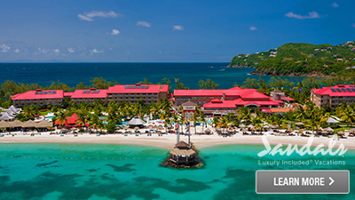 sandals grande saint lucian caribbean travel destination