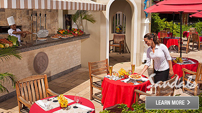 sandals saint lucian grande st. lucia best places to eat