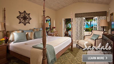 Sandals Halcyon Beach St. Lucia best rooms