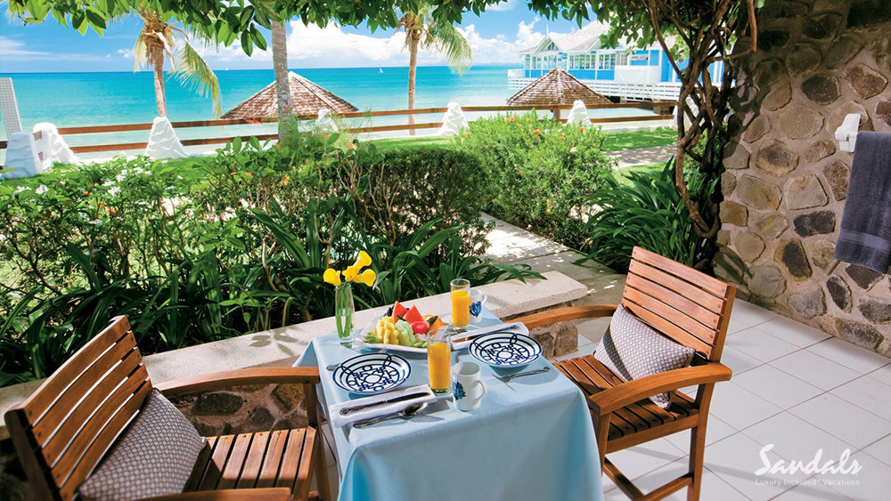 sandals halcyon beach saint lucia adult only resort