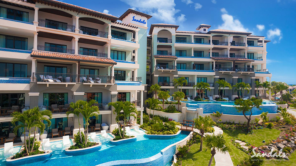 sandals grenada luxury hotel caribbean