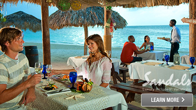 montego bay sandals best places to dine jamaica