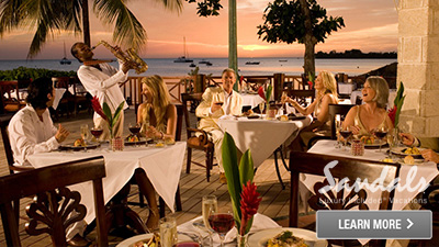 negril sandals jamaica best places to dine