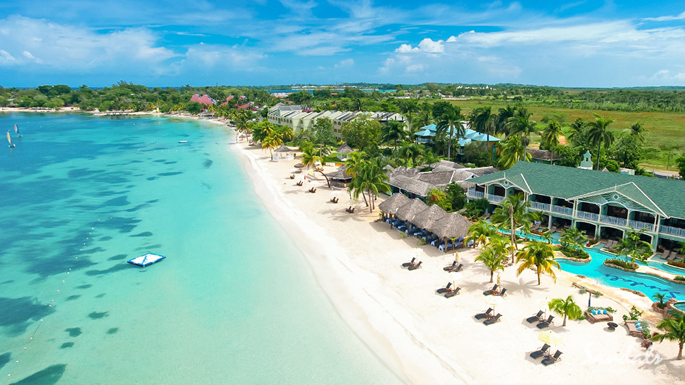 sandals negril jamaica beach travel destination