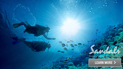regency la toc sandals saint lucia fun scuba diving