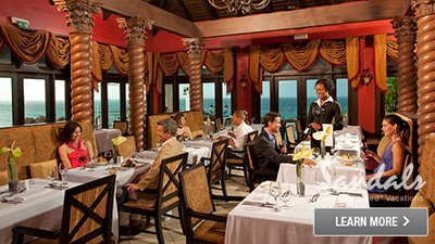 regency la toc sandals caribbean best places to eat