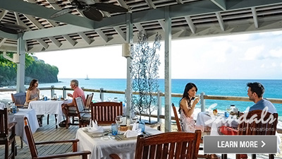 regency la toc sandals saint lucia best places to dine