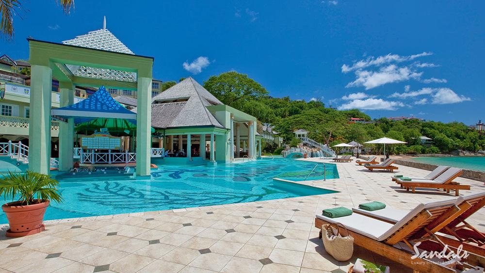 sandals regency la toc st. lucia beach getaway caribbean