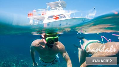 Caribbean fun water sports