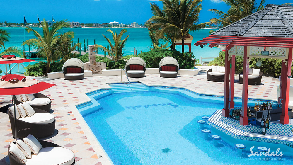 sandals royal bahamian beachfront adult getaway caribbean