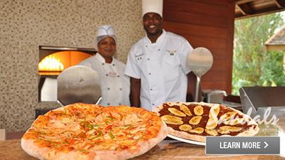 Caribbean pizzeria