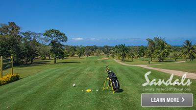 sandals plantation royal caribbean best places to golf