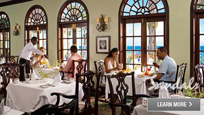 sandals plantation royal caribbean best places to dine