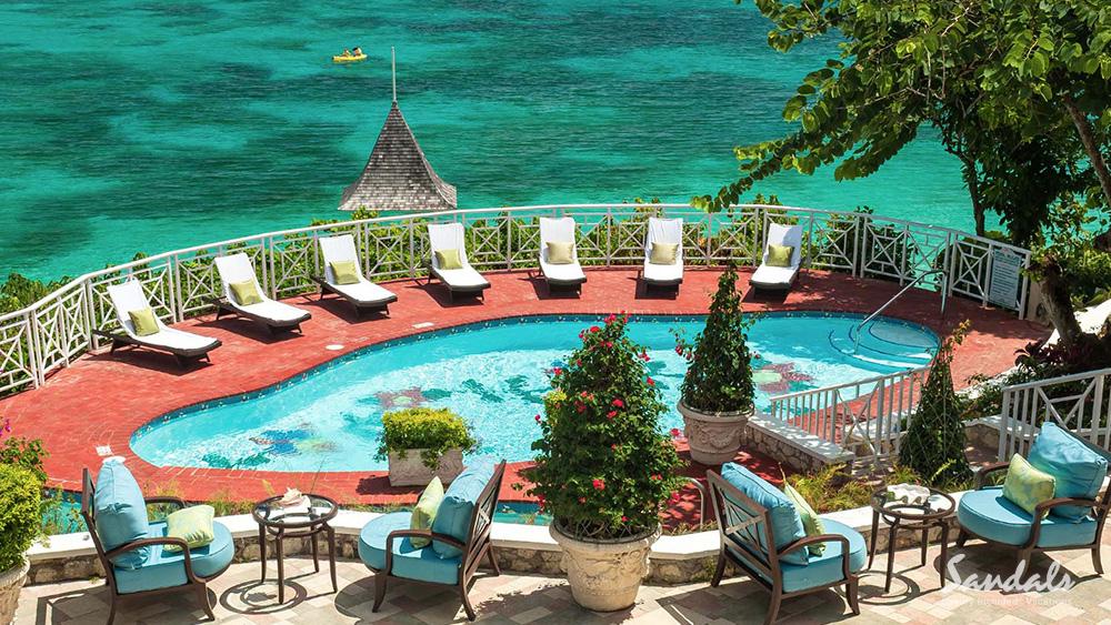 sandals royal plantation beachfront resort jamaica