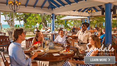 sandals coast south caribbean best places to eat