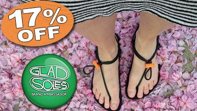 gladsoles barefoot running sandals