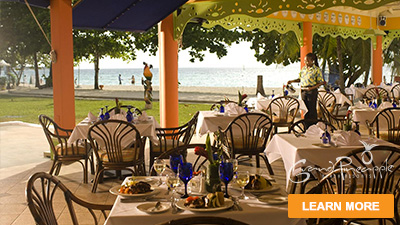 grand pineapple negril beach caribbean best places to eat