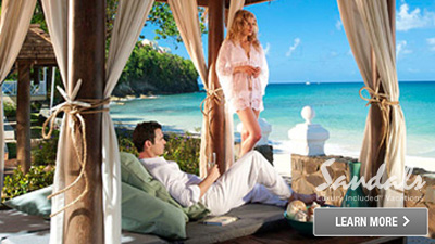 sandals grenada caribbean romantic spots