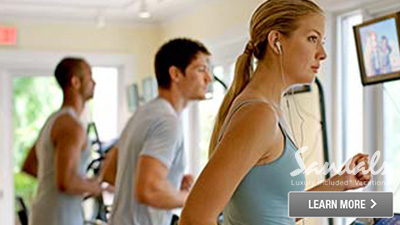 sandals grenada caribbean best places to work out fitness center