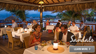 sandals grenada best places to dine