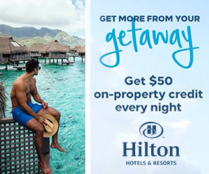 hilton best vacation deals