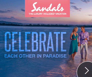sandals free anniversary night