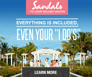 sandals wedding vacation deals
