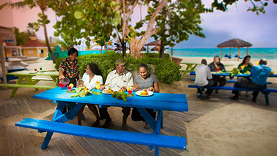 breezes spa resort caribbean best places to eat
