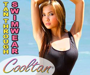 cooltan tan through bathing suits