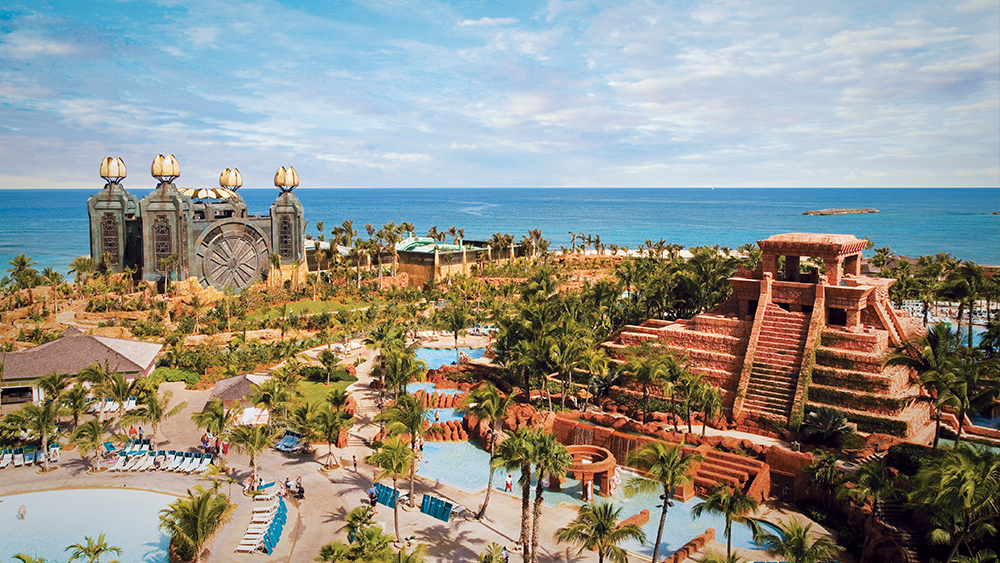 atlantis paradise island family beach vacation