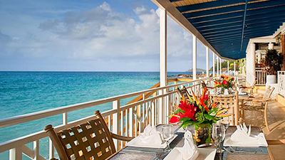 frenchman's reef & morning star marriott beach resort best food st thomas